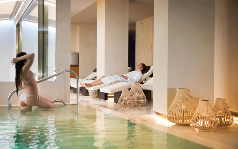 SPA pool and relax