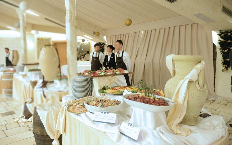 outdoor event_buffet