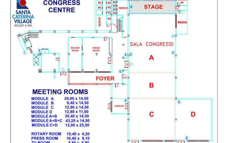 congress centre plan