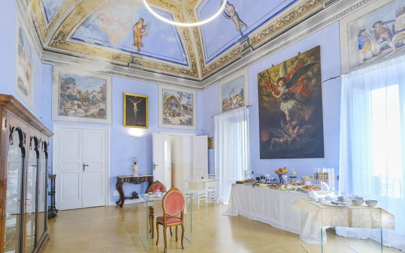 Main Room with Frescoes_Breakfast