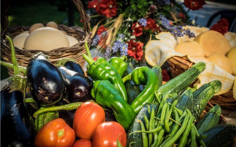 fresh and bio vegetables