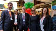 with Italian Ambassador and Latvian Minister_Balttour 2019